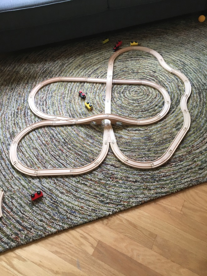 Some train tracks from Ikea