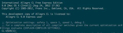 Allegro CL  Emacs