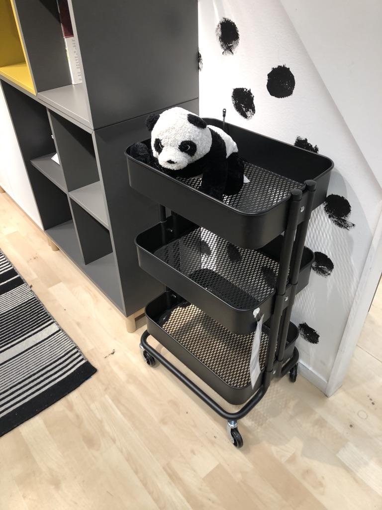 Panda at Ikea